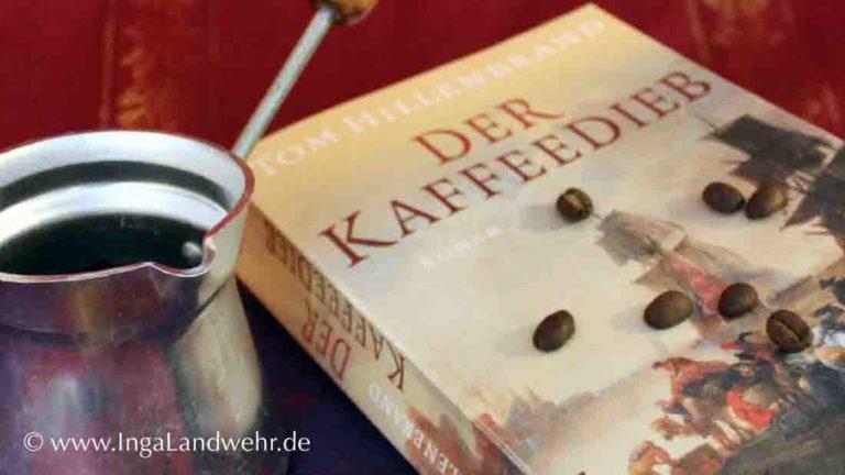 """Cover des Buches von Tom Hillenbrands """"Der Kaffeedieb"""""""